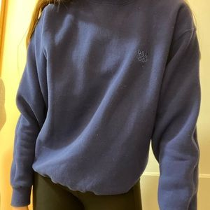 USA olympics sweatshirt blue size medium vintage